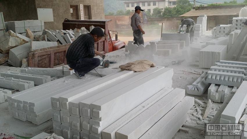 供应湖南汉白玉板材料柱子料