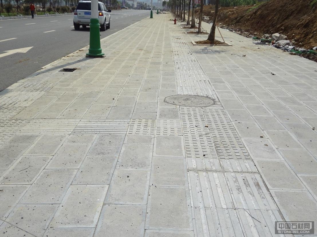 青石铺路石