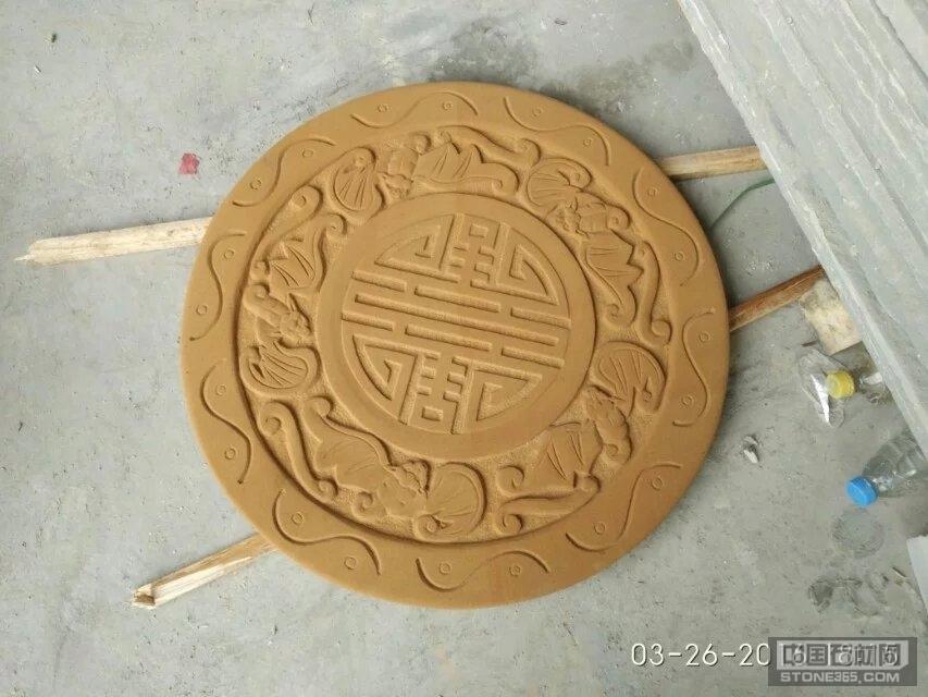 黄砂岩 雕刻 浮雕 石雕