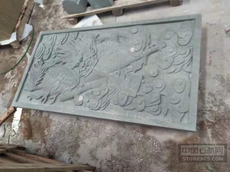 绿砂岩雕刻