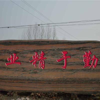 学校景观石题词