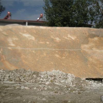 河南黄色景观石销售