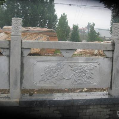 供应南阳石栏杆 石雕栏板
