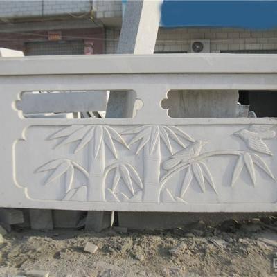 河南白色大理石栏板栏杆销售