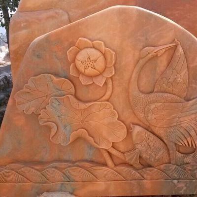 河南自然景观石照片