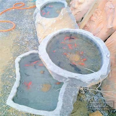 供应大理石鱼缸石 石头养鱼缸