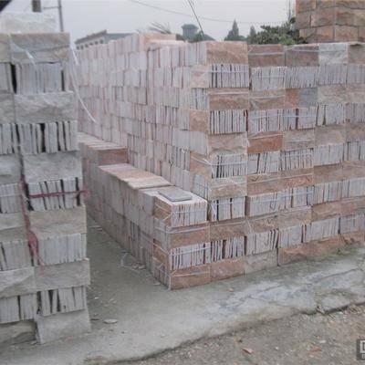 银河石材厂天然蘑菇石价格