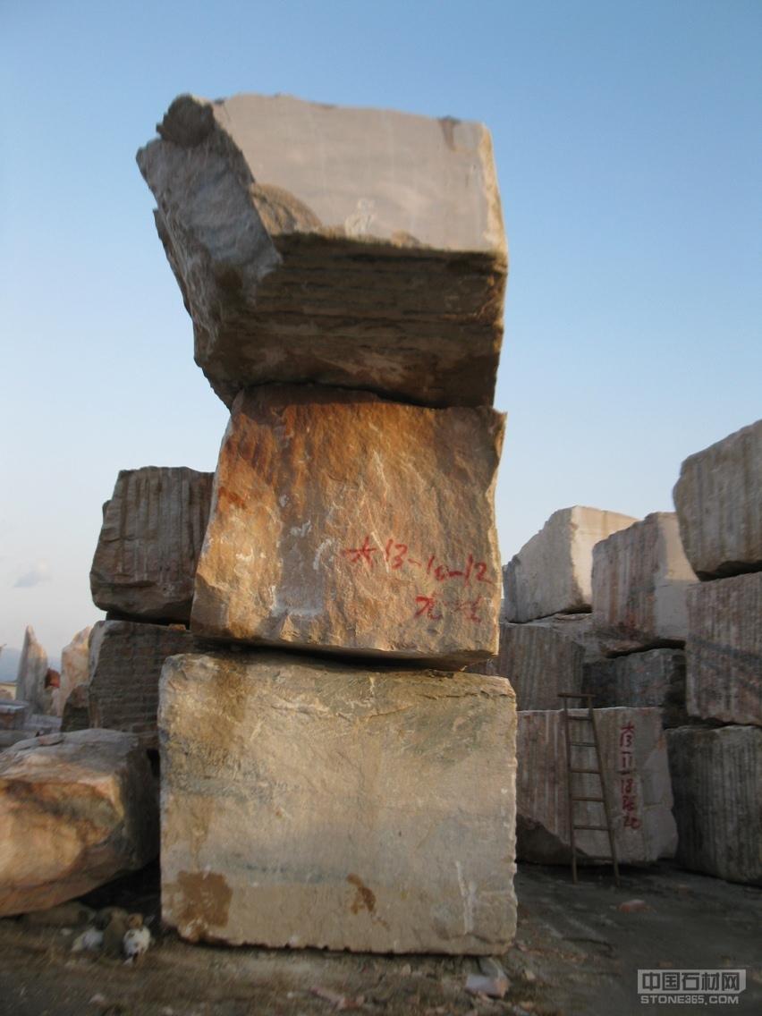 长期供应晚霞红大理石石材石料