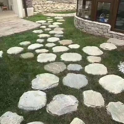 庭院造景石汀步石步道石脚踏石