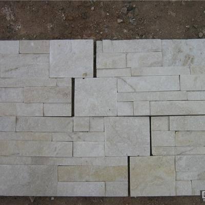白石英文化石,蘑菇石