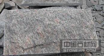 牡丹红石材文化石蘑菇石板岩