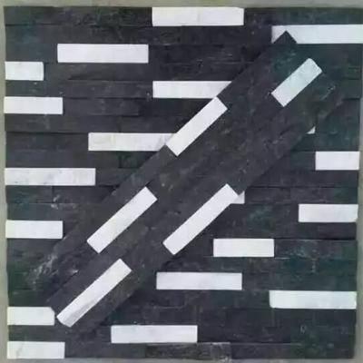 黑白杂色文化石1
