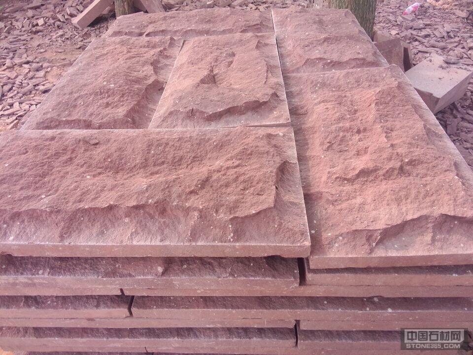 粉砂岩平板石,乱型石,蘑菇石