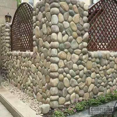 鹅卵石河卵石面包石脚踏石草坪石