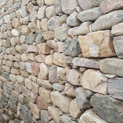河卵石墙体1