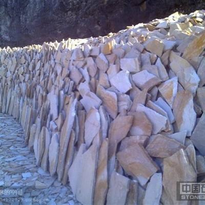 北京黄木纹乱形石