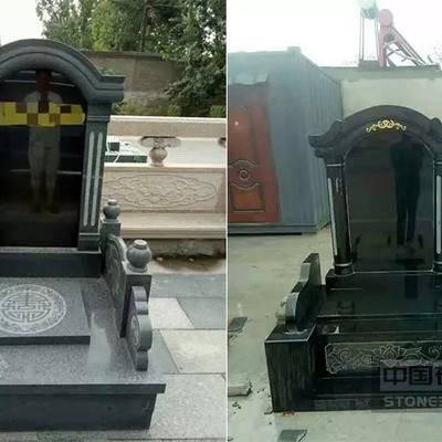 山东章丘黑芝麻黑墓碑厂