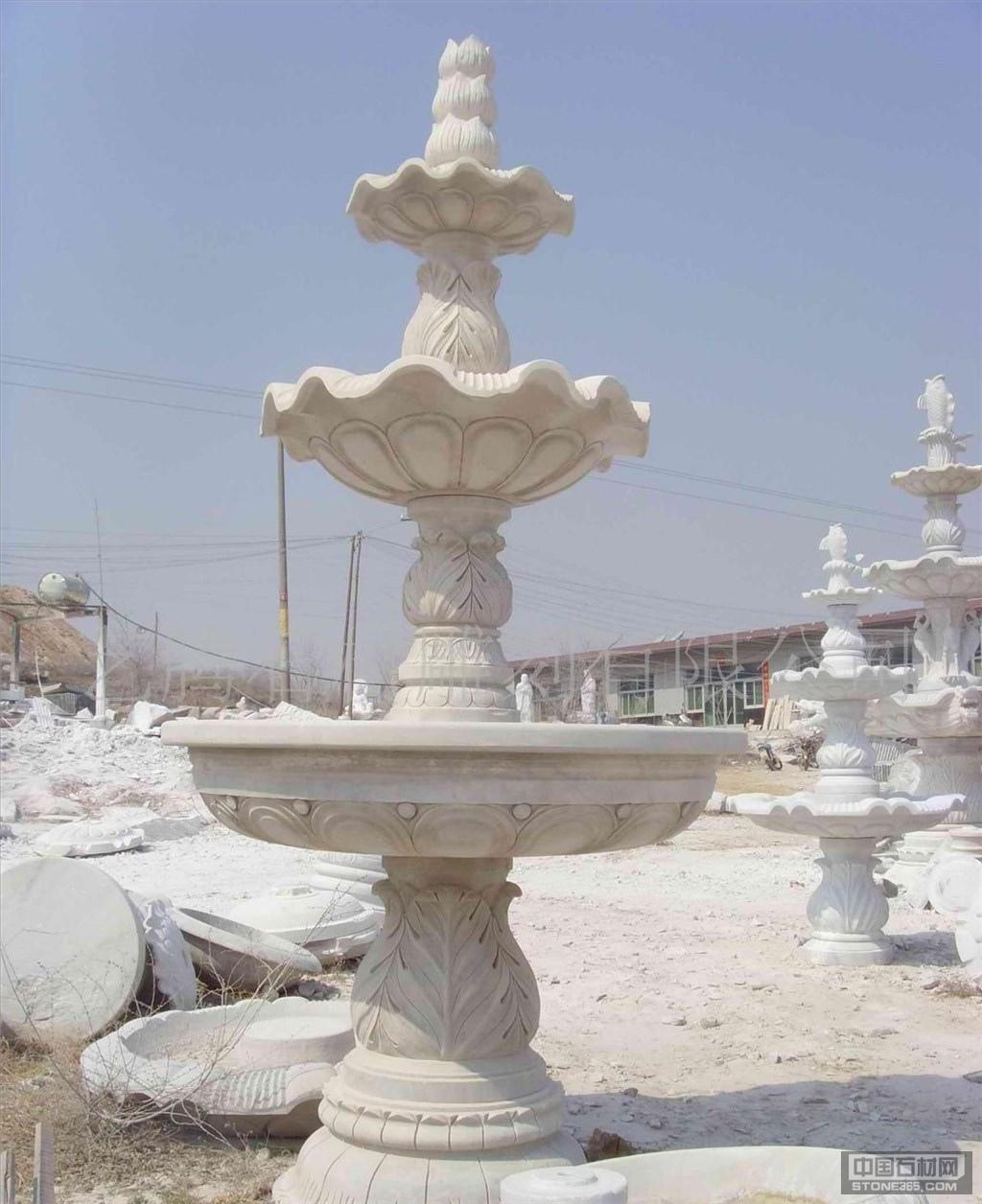 风水球、喷泉