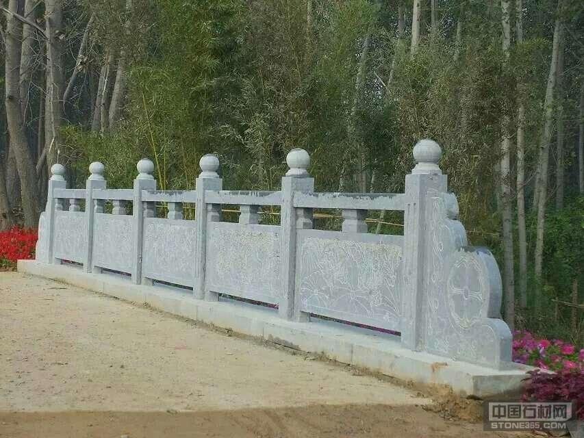 优质天青石栏杆