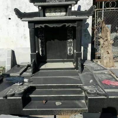青石、中式墓碑