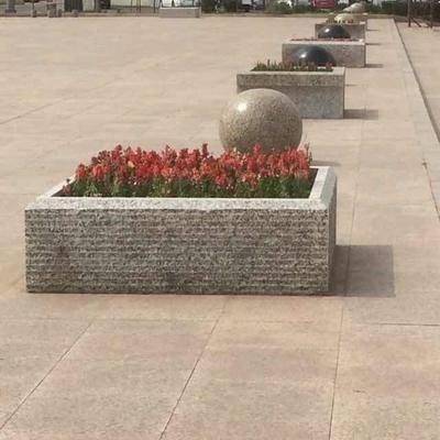 正方形工艺花池