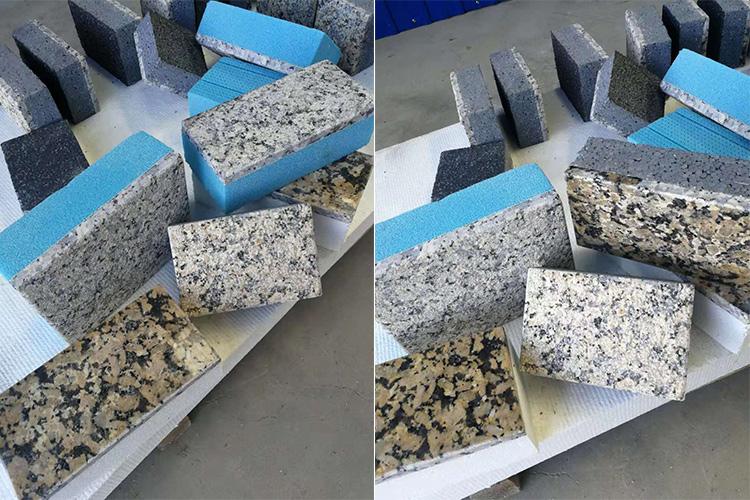 超薄石材保 温复合一体板