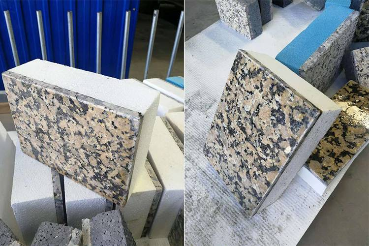 金钻麻超薄石材保 温复合一体板