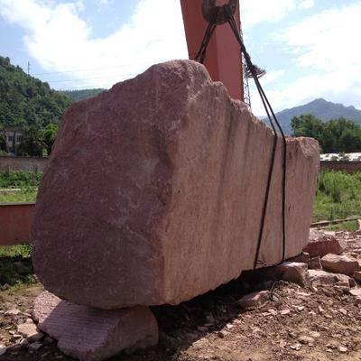 供应中国红花岗岩荒料