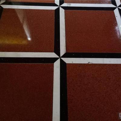 中国红地板砖