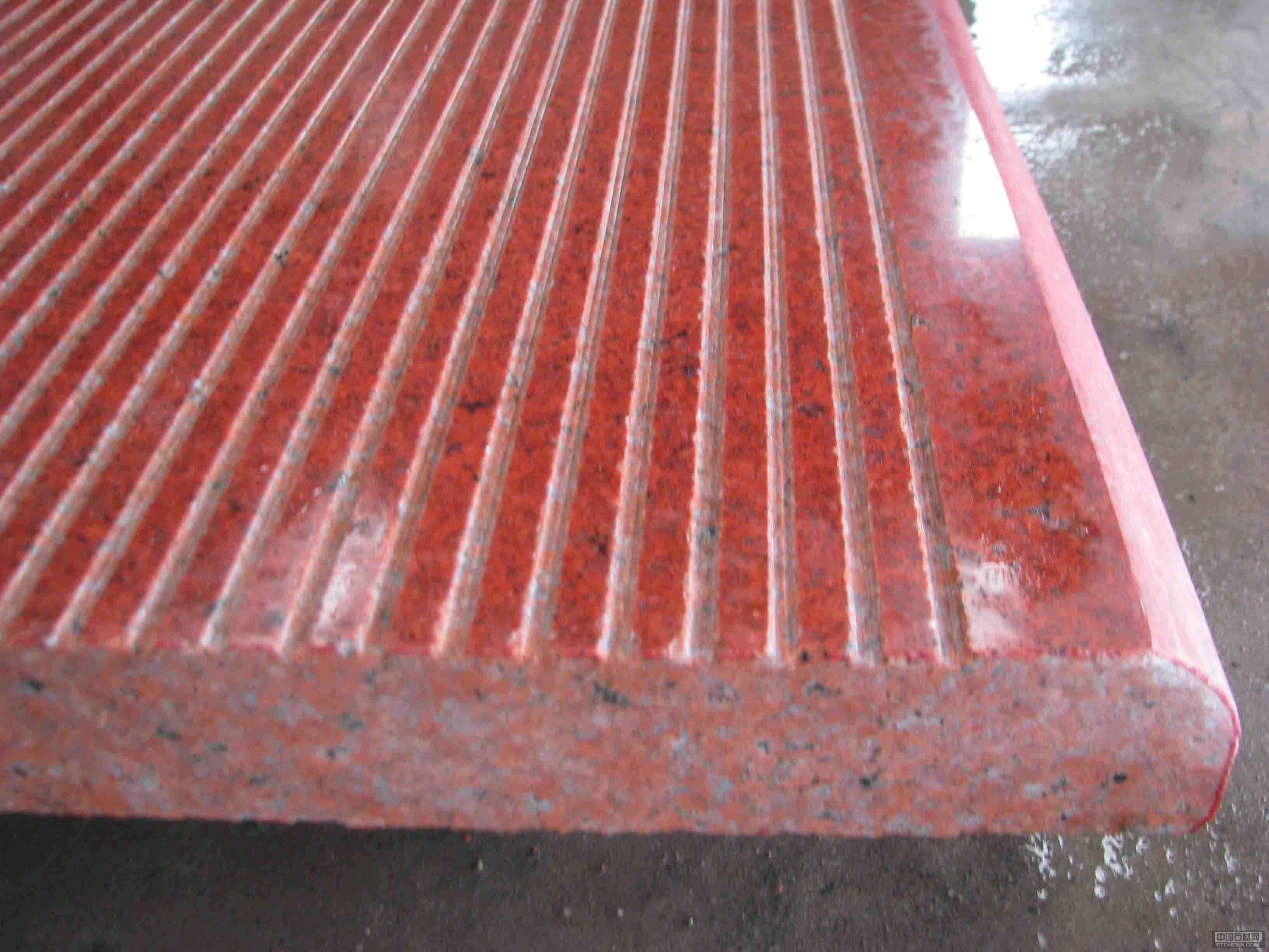 中国红光面拉丝工程板