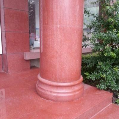 中国红罗马柱