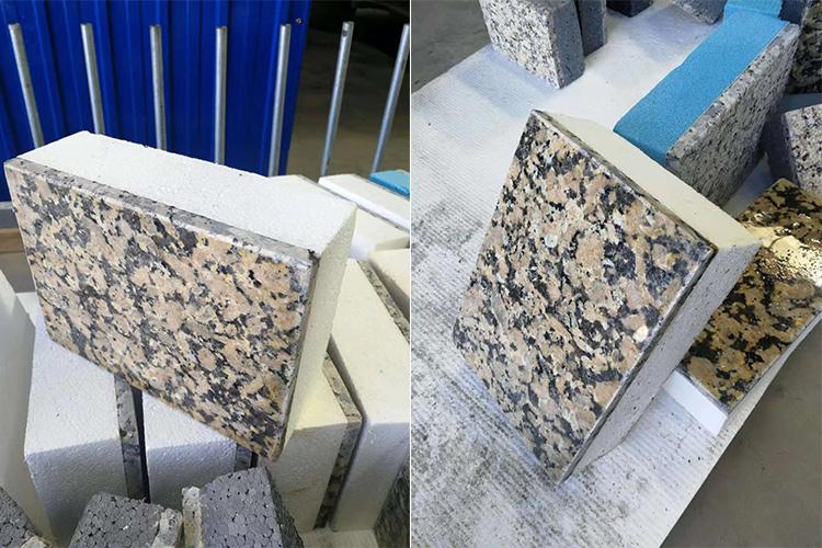 超薄石材复合一体板内蒙金钻麻