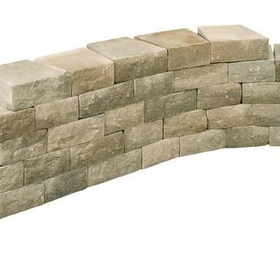 供应黄砂岩自然边墙石