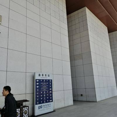 高铁站外墙荔枝面干挂