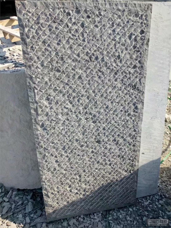 内蒙古錾道面青石板、凿道面青石