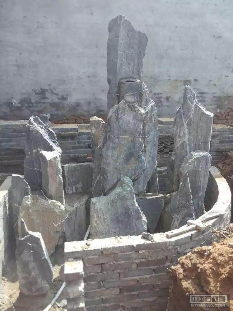 供应磊假山石工人