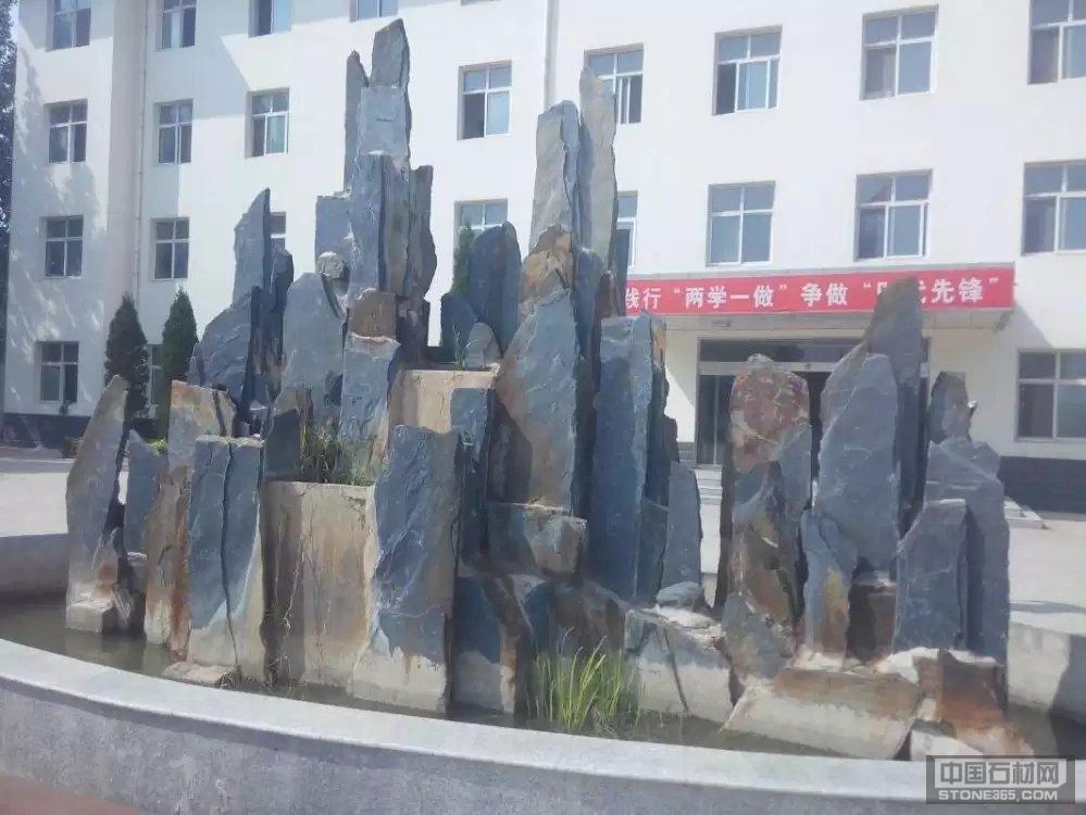 供应斧劈石、斧劈石假山