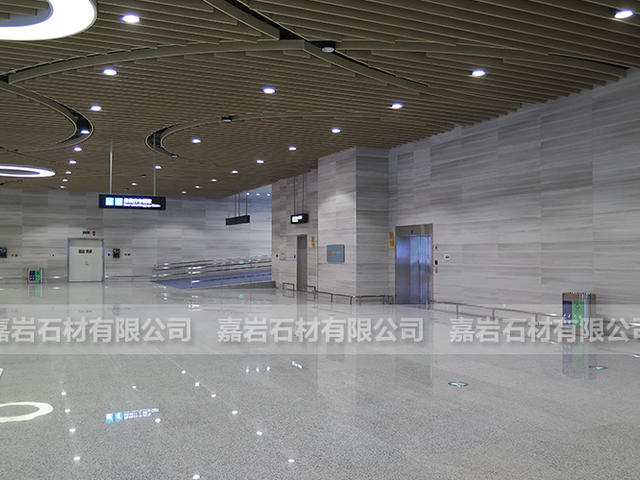 廈門高崎機場T4航站樓白木紋工程