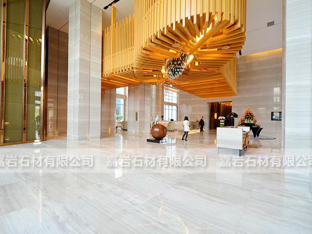 北京朗豪酒店白木紋工程案例