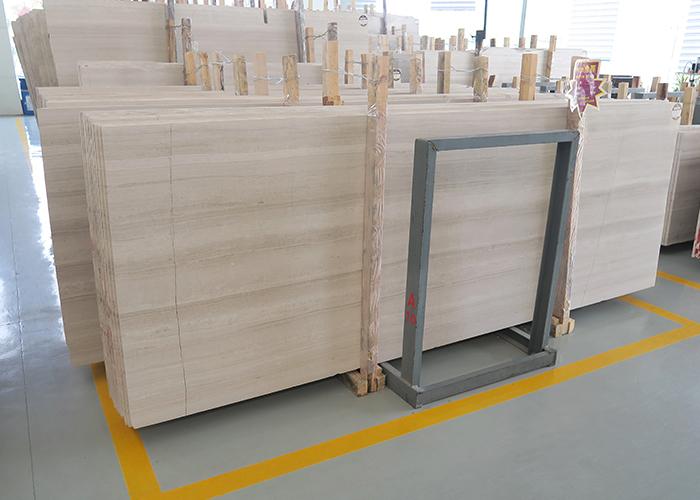 水头嘉岩石材专业供应白木纹大板