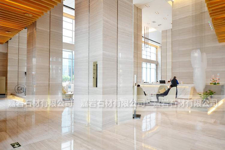北京朗豪酒店白木纹工程案例