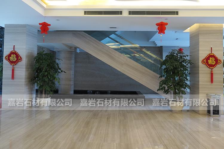 湖北宜昌宏德大酒店白木纹工程