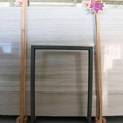 精品超白底白木纹大板