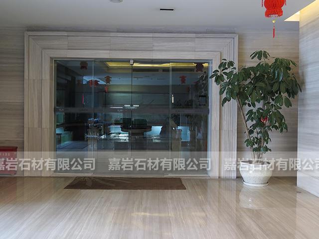 湖北宜昌宏德大酒店白木紋工程