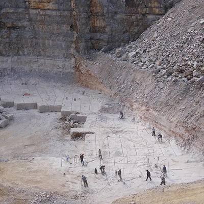 大型木纹矿山