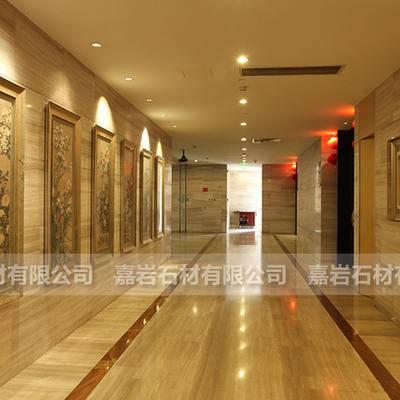 天津顺峰酒店白木纹工程