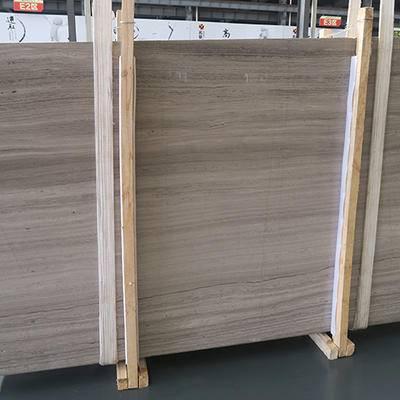 嘉岩石材厂家直销灰木纹大板