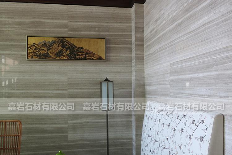 龙岩恒宝广场售楼处白木纹工程