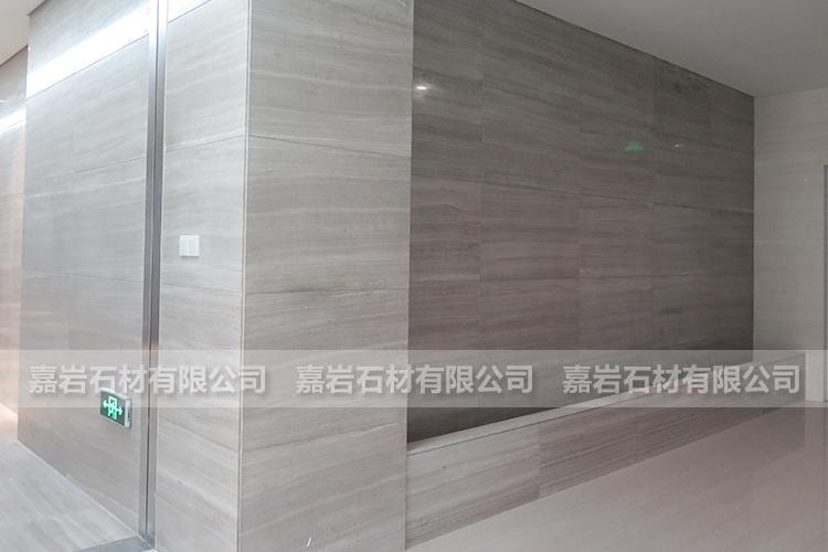 鸿星尔克翔安产业园白木纹工程