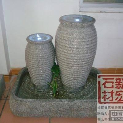 供应LED石材喷泉
